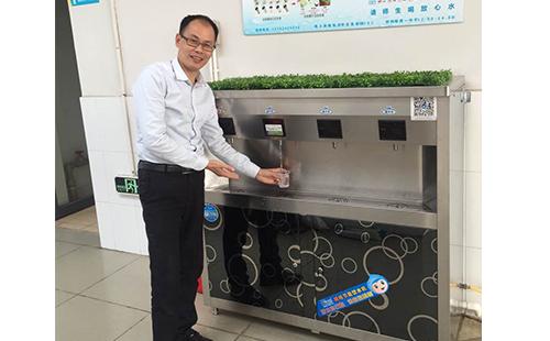 怎样才是一款高品质高效节能校园柜式直饮水机?[精格净水]
